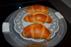 croissants Portugais, cuisson uniforme