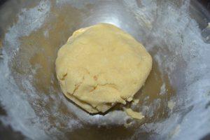 boule de pâte obtenu