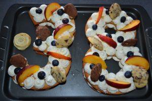 decoration de fruits et friandises