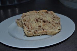 pain de mie et pépites de chocolat