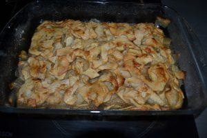 pommes cuites et fondantes