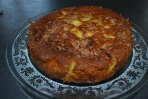 gâteau madeleine au pommes