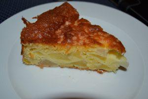 gâteau madeleine aux pommes