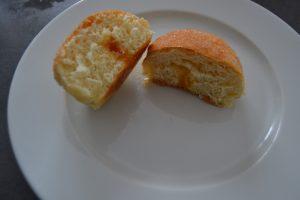 beignets fourré de confiture d'abricot