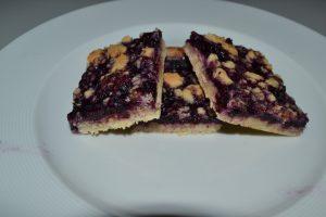 biscuit crumble myrtille