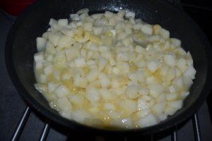 compotée de poires