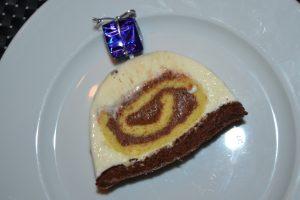 bûche gourmande chocolat