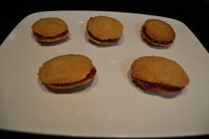 biscuits assemblés 2 par 2