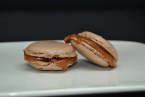 macarons caramels