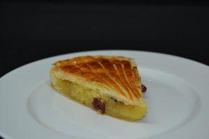 galette des rois frangipane- cranberry