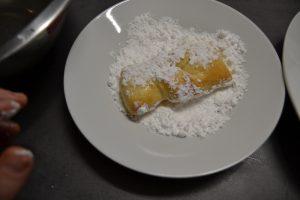 bugne rouler dans le sucre glace