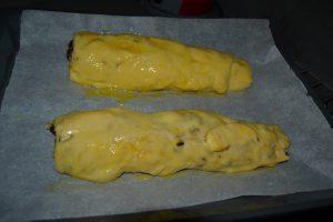 boudins dorer a l'œuf battu