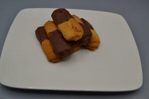 Biscuits vanille-chocolat