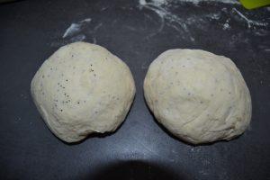 boules de pâte a pain