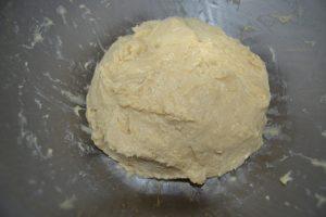 boule de pâte souple non collante