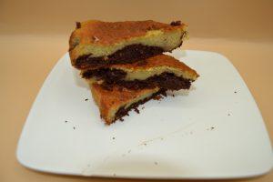 gâteau vanille-chocolat
