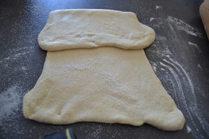 pâte plier pour un tour