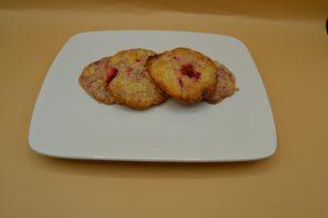 cookies chocolat blanc et fraises