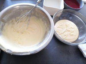 pâtes séparer en 2