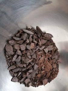 chocolat haché