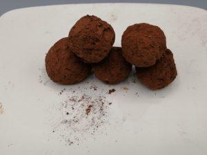 truffes chocolat- noisettes