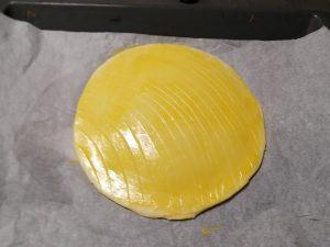 galette décorer au couteau