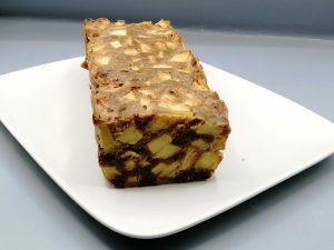 gâteau speculoos et pommes