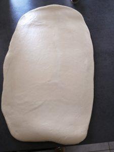 pâte étaler en longueur