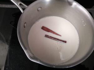 lait, miel, cannelle